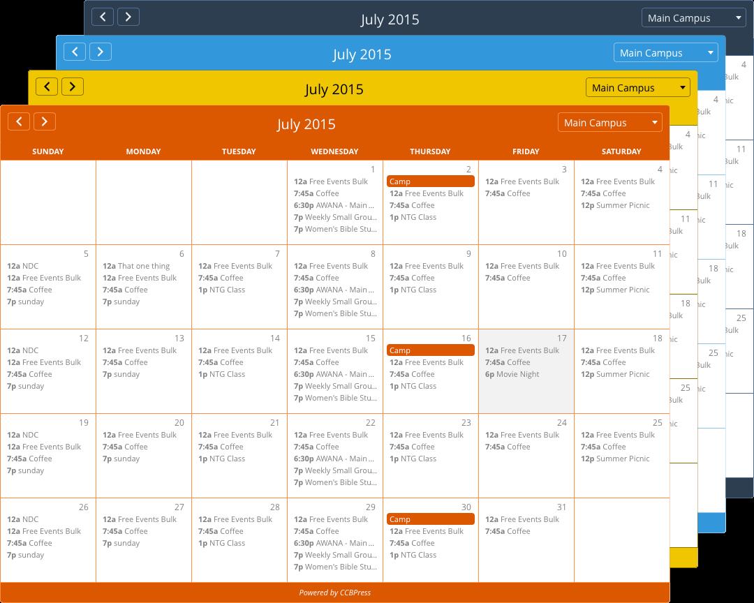 calendar-color-collage
