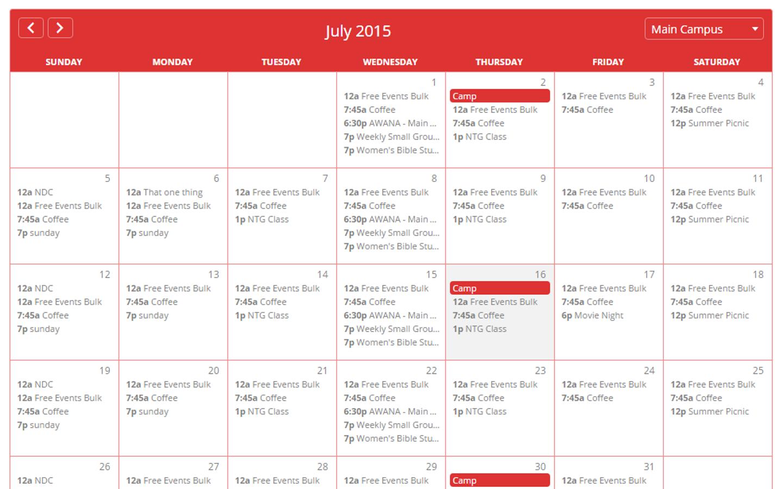 Macbook Wallpaper Calendar : Ccbpress church community builder wordpress plugin